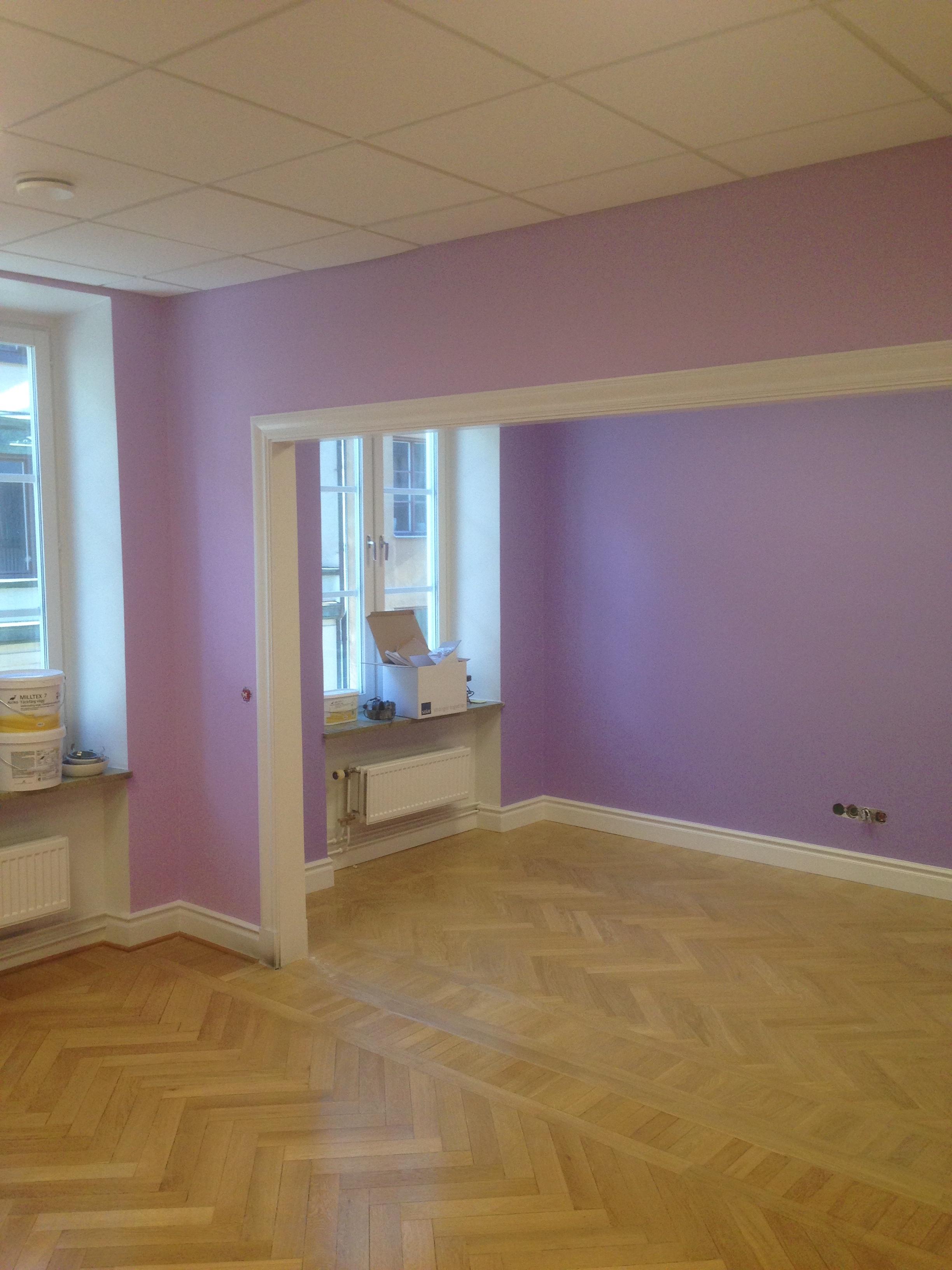 Lila rummet
